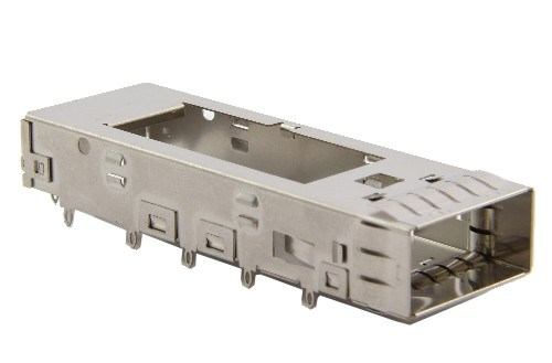 QSFP 1X1 CAGE WITHOUT HEAT SINK